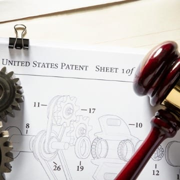 Gavel & Gears On Patent
