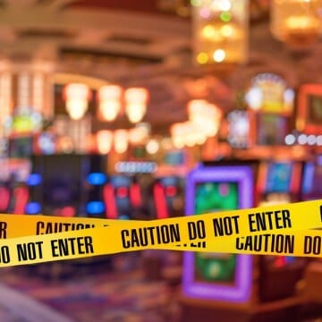 Casino Accident Scene