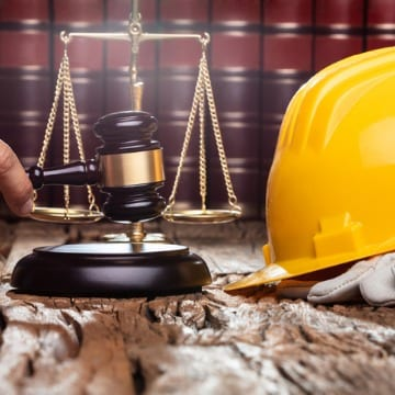 Gavel & Construction Safety Hat