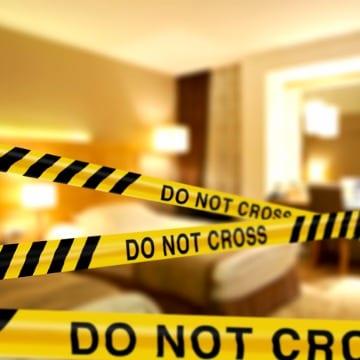 Hotel Room Accident Scene