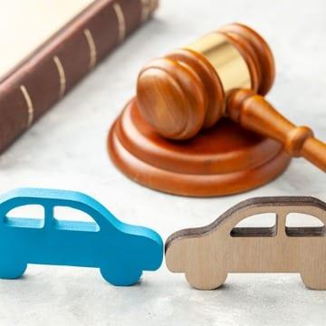 Gavel & Car Miniature Models