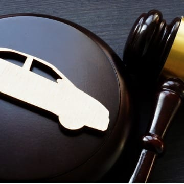 Gavel & Car Print