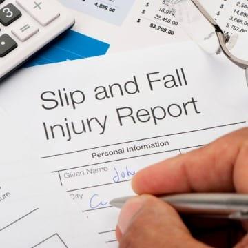 Slip & Fall Injury Form