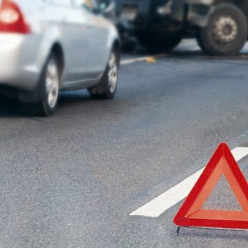 Traffic Accident Sign